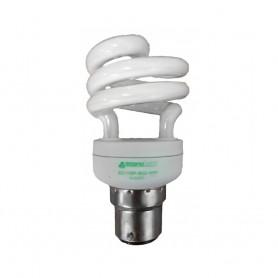 11 watt mini spiral lamp BC 2700K T2