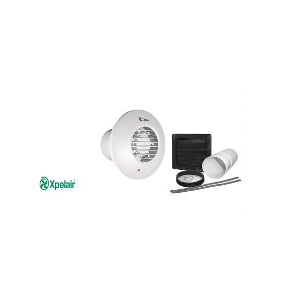 100mm simply silent exhaust fan round